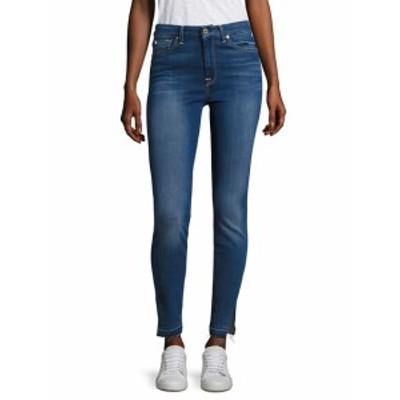 7 フォー オールマンカインド レディース パンツ デニム Released Hem Slit High-Waist Skinny Jeans