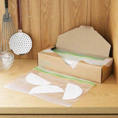 アスクルフリーザーバッグ(マチ付き 冷蔵 冷凍対応) Mサイズ B5ヨコサイズがピッタリ入る 1箱(30枚入) ロハコ(LOHACO) オリジナル