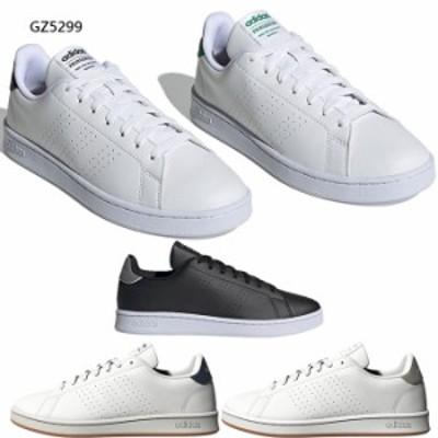 アディダス メンズ レディース アドバンコートADVANCOURT U スニーカー シューズ 紐靴 ローカット コート系 送料無料 adidas GZ5299 GZ53