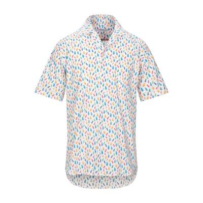 タケシ クロサワ TAKESHY KUROSAWA シャツ ホワイト S コットン 97% / ポリウレタン 3% シャツ
