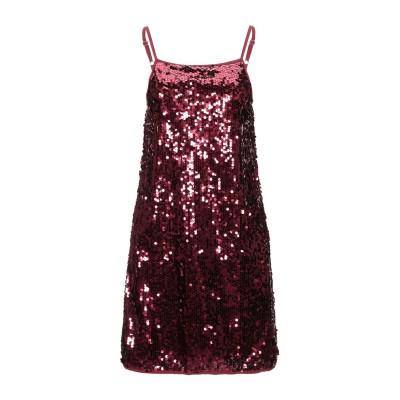 KAOS JEANS ミニワンピース&ドレス レッド 40 ポリエステル 100% ミニワンピース&ドレス