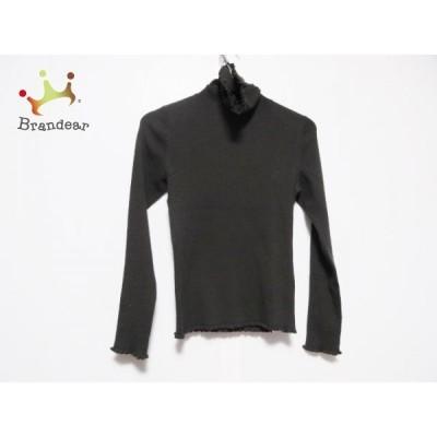 トゥービーシック 長袖セーター サイズ2 M レディース - ダークブラウン タートルネック  値下げ 20210415