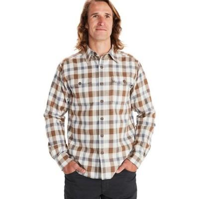 マーモット Marmot メンズ シャツ ネルシャツ トップス Movatn Heavyweight Long - Sleeve Flannel Shirt Papyrus