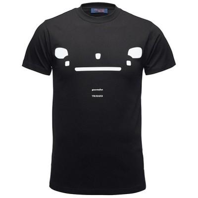 フィアット純正 Panda Trussardi Tシャツ(ブラック)
