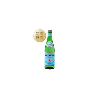 炭酸水 サンペレグリノ 炭酸水 瓶 1ケース 24本入り 500ml 他商品と同梱不可 割り材 ソーダ soda 包装不可