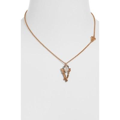 ヴェルサーチ VERSACE レディース ネックレス ジュエリー・アクセサリー Virtus Necklace Versace Gold Crystal