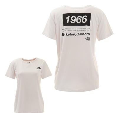ノースフェイスアウトドア半袖Tシャツ 66 ORIGINAL NTW32182 Wグリーン
