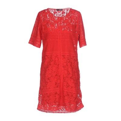 リュー ジョー LIU •JO ミニワンピース&ドレス レッド 38 レーヨン 100% ミニワンピース&ドレス