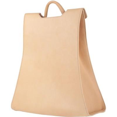 ブシェミ BUSCEMI バックパック&ヒップバッグ サンド 革 バックパック&ヒップバッグ
