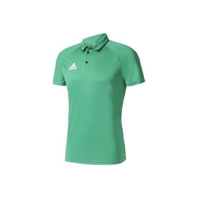 (アディダス)adidas サッカーウェア TIRO17 ポロシャツ BRR90 [メンズ] BQ2627 グリーン/ブラック/ホワイト J/O