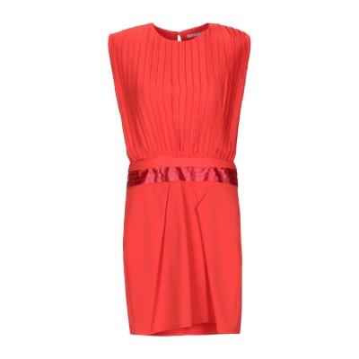 HOPE COLLECTION ミニワンピース&ドレス レッド M ポリエステル 100% ミニワンピース&ドレス