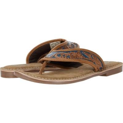 ローパー Roper レディース ビーチサンダル シューズ・靴 Penelope Tan/Turquoise
