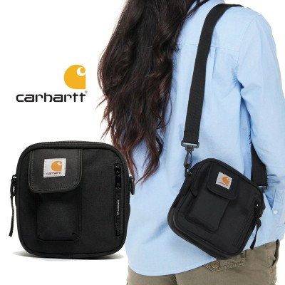 [CARHARTT] WIP ESSENTIALS BAG BLACK I006285 8990  カーハート ショルダーバッグ レディース メンズ 韓国ファッション
