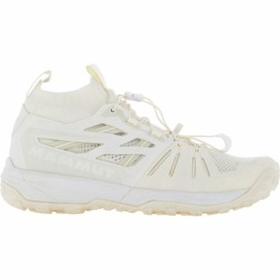 マムート Mammut メンズ スニーカー シューズ・靴 Saentis Knit Sneakers White