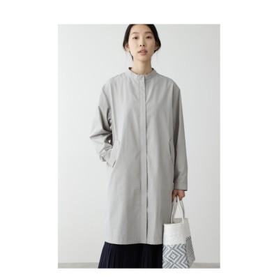 HUMAN WOMAN / ◆コットンナイロンダンプ加工コート WOMEN ジャケット/アウター > ナイロンジャケット