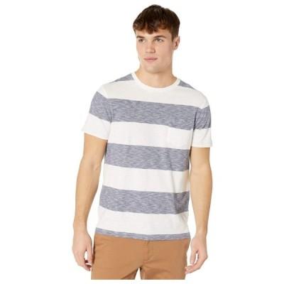 ジェイクルー J.Crew メンズ Tシャツ トップス Rig Stripe Short Sleeve Tee Ivory