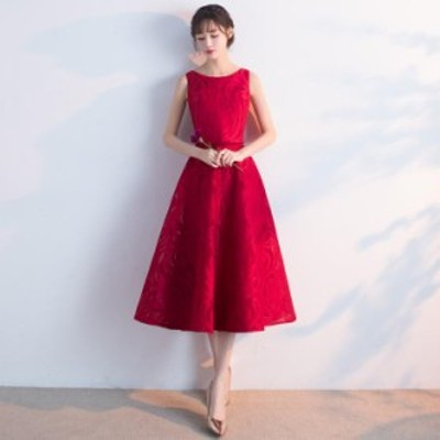 ロングドレスパーティードレスAラインオシャレレディースドレスドレスフレア上品二次会ドレス着痩せ七分袖刺繍袖なし