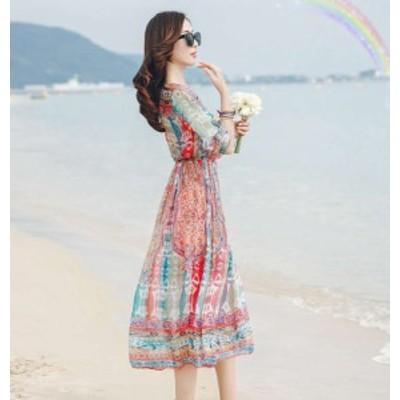 ワンピース ロング シャツ ワンピース ロング丈 大きいサイズ ロング ワンピース 春 夏 ワンピース 花柄 ロング ワンピース ドレス ロン