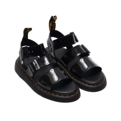 ブーツ Dr.Martens ドクターマーチン ショア グリフォン ブラック パテント ランパー / SHORE GRYPHON BLACK PATE