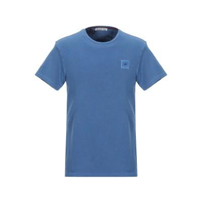 マニュエル リッツ MANUEL RITZ T シャツ パステルブルー M コットン 92% / ポリウレタン 8% T シャツ