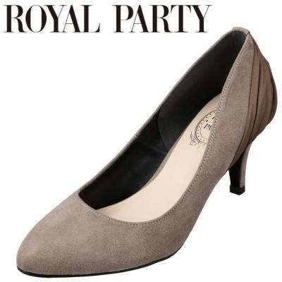 ロイヤルパーティ ROYAL PARTY RP8580 レディース | パンプス | アーモンドトゥ | ふかふかインソール クッション性 | オーク