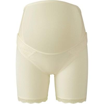 WACOAL MATERNITY 妊婦帯 パンツタイプ 産前 [ 1枚で着用できる ] ロング丈 LL CR/クリーム MGP183
