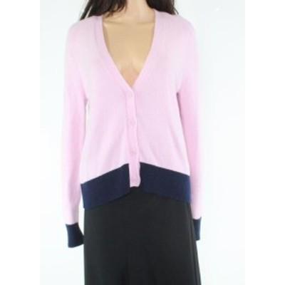 1901 ワンナインオーワン ファッション トップス 1901 NORDSTROM Womens Blue Pink Size Medium M Cardigan Sweater