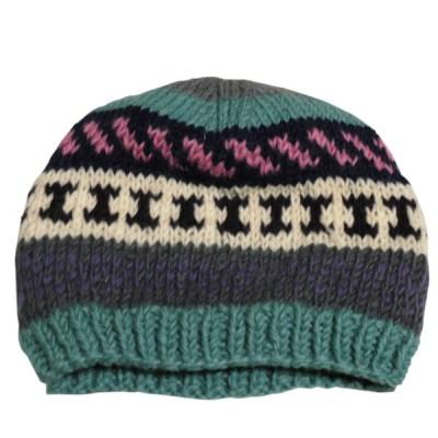 帽子 ネパールウール・ニットキャップ41 クリックポスト選択 送料200円