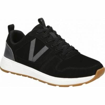 バイオニック Vionic レディース スニーカー レースアップ シューズ・靴 Rechelle Lace Up Sneaker Black Nubuck Leather