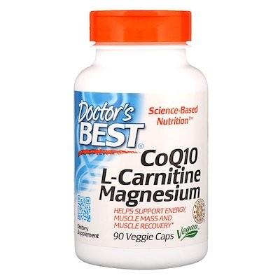 CoQ10 L-カルニチンマグネシウム、90ベジカプセル