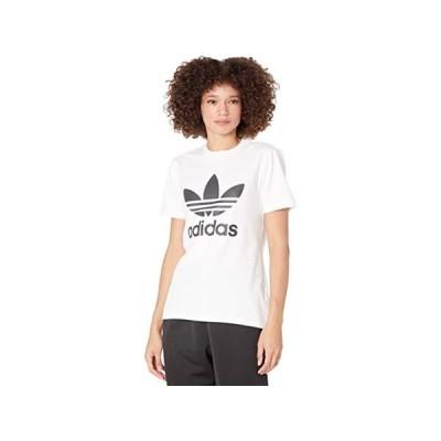 【ポイント最大13倍!!】(取寄)アディダス オリジナルス レディース トレフォイル ティー adidas Originals Women's Trefoil Tee White