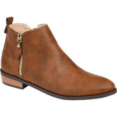 ジュルネ コレクション Journee Collection レディース ブーツ シューズ・靴 Ellis Bootie Brown