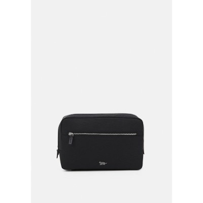 タイガー オブ スウェーデン ボディバッグ・ウエストポーチ メンズ バッグ BOOMER UNISEX - Wash bag - black
