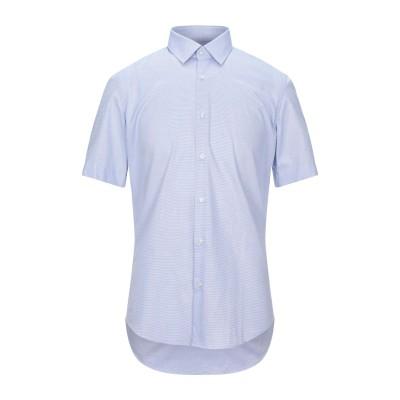 BOSS HUGO BOSS シャツ ブルー 38 コットン 100% シャツ