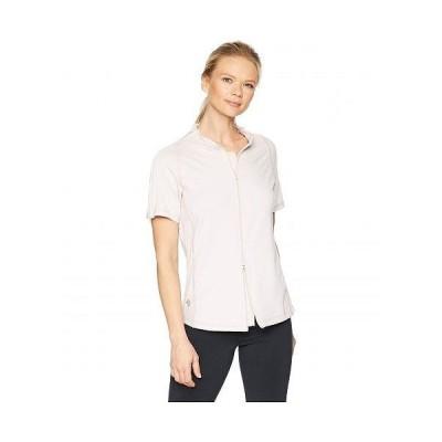 Reboundwear レディース 女性用 ファッション アクティブシャツ The Lindsey S/S Easy Dressing Adaptive Top - Blush