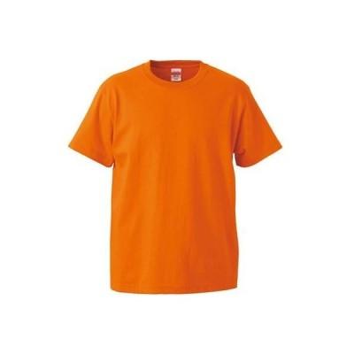 (ユナイテッドアスレ)UnitedAthle 5.6オンス ハイクオリティ Tシャツ 500103 [レディース] 064 オレンジ G-S
