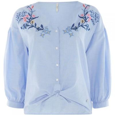 ペペジーンズ Pepe Jeans レディース ブラウス・シャツ トップス Liv Shirt Light Blue