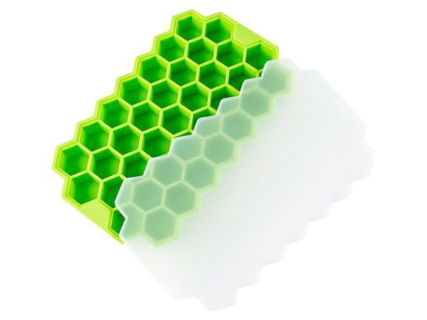 矽膠蜂巢37格製冰器(1入) 顏色隨機出貨【DS001838】