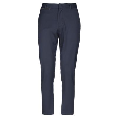 LOW BRAND パンツ ダークブルー 28 バージンウール 54% / ポリエステル 45% / ポリウレタン 1% パンツ