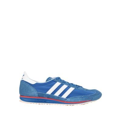ADIDAS ORIGINALS スニーカー&テニスシューズ(ローカット) ブルー 5.5 革 / 紡績繊維 スニーカー&テニスシューズ(ローカット)