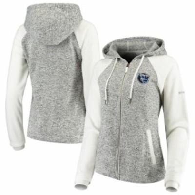 Columbia コロンビア スポーツ用品  Columbia San Jose Earthquakes Womens White Darling Days Full-Zip Jacket