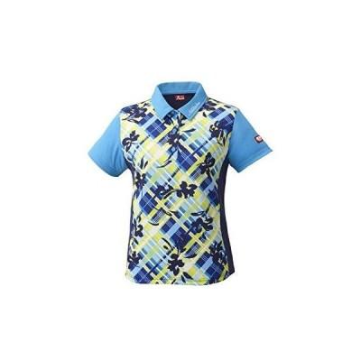 ニッタク(Nittaku) フラチェックスシャツ (NW2181) 色 : ブルー サイズ : O
