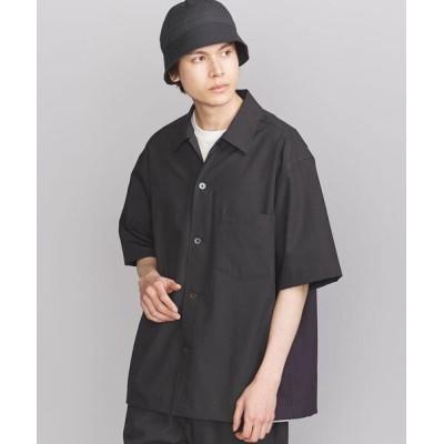 シャツ ブラウス BY KOMATSU PACK ワイドフォルム ショートスリーブ シャツ 【セットアップ対応】