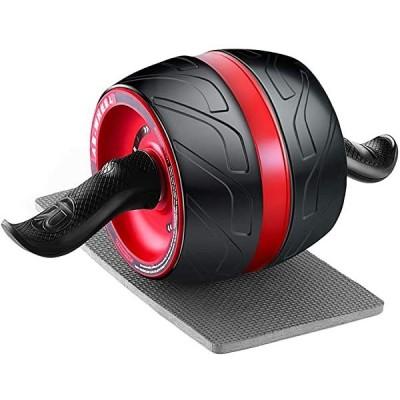 腹筋ローラー アブホイール 自動リバウンド式 エクササイズウィル エクササイズローラー スリムトレーナー 超静音 アブローラー ...