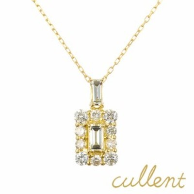 K18ダイヤモンドネックレス perfume ネックレス ペンダント ダイヤモンド 18金 18k