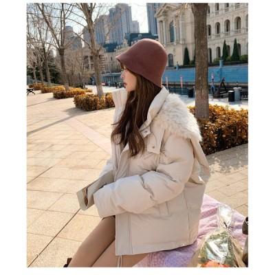 ミドル丈 中綿コート 冬 アウター ジャケット レディース ブルゾン 厚手 ジャンパー 冬 アウター 暖かい 可愛い おしゃれ