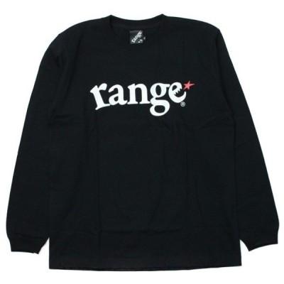 range  ロンT   LOGO 黒  (レンジ)