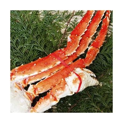 魚河岸厳選 最高級品アラスカ産 ボイル タラバガニ 脚 特大極太 6L 1肩1.2Kgサイズ