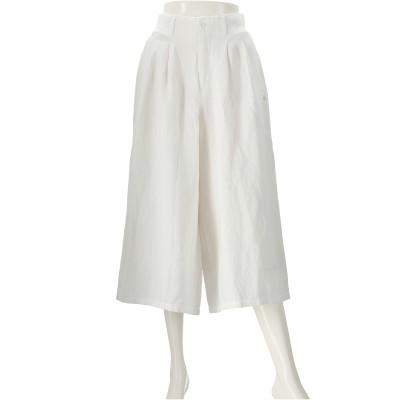 Rejoove 麻混スカート見えガウチョパンツ