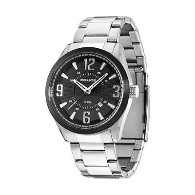 Police Men's Quartz Watch PL.13893JSSB/02M with Metal Strap 並行輸入品